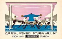 Cup Final Wembley, 1928, Eric George Fraser (1902-1983)