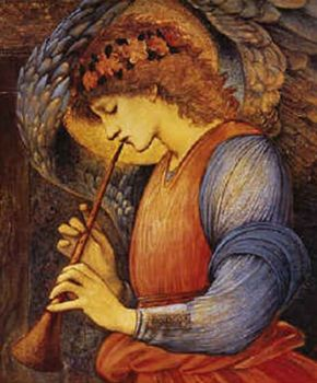 An Angel by Edward Burne-Jones