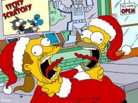 christmas simpsons