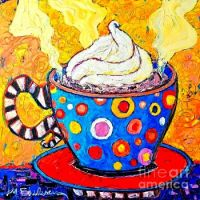 Viennese Cappuccino Whimsical Coffee Cup ...