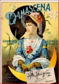 Themes Vintage ads - Damascena Cosmetics