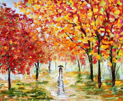 Autumn in Oils - 1