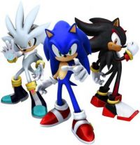 sonic, silver, and shadow