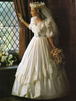 Wedding dresses I tried on in 1989 Number 2!