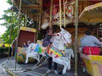merry -go-round in Bruges