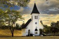 Country Chapel @ Sunset