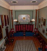 beamish 12-05-10 masonic hall lodge room balcony down v pan