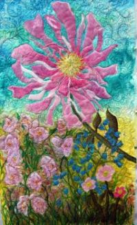 Art Quilt Barbara Harms