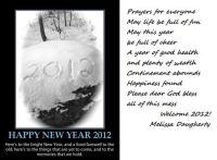 My 2012 prayer smaller puzzle
