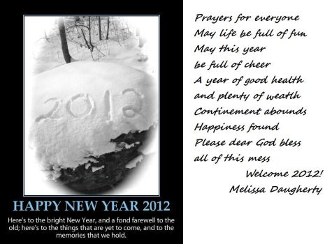 My 2012 prayer smaller puzzle