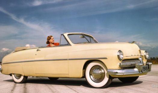 1949 Mercury Eight convertible coupe