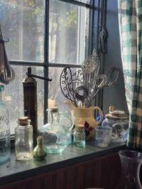 Kitchen window sill