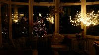 Hurray - the Christmas lights are working!