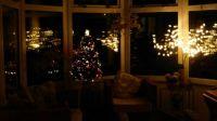 Hurray - the Christmas lights are working!