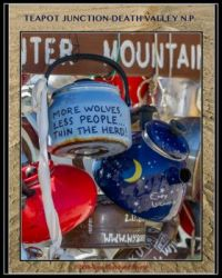 Teapot Junction-Death Valley NP