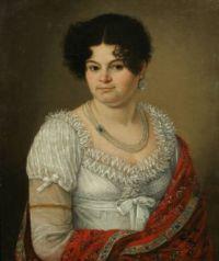 c. 1810 - 1820 Princess Kurakina by VB