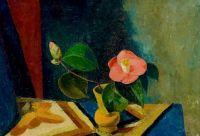 Still Life with Camellias, 1929, Heinrich Müller (1885-1960)