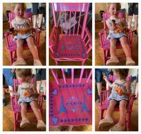 Maddie & Her New Rocker!! 😃 (Video)