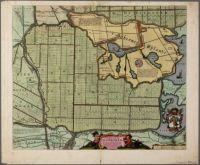 Caerte van de Scher-meer by Cornelis Ian allers Bogaert, approx. 1635