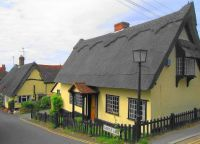 Castle Hedingham Thatched Cottage
