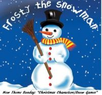 """New Theme Sunday: """"Christmas Characters, Stories & Snow Games""""  ENJOY  Be well, safe & happy."""