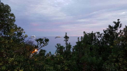 Monaco Sonnenuntergang