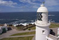 Argus Cottage at Pendeen Lighthouse Cornwall