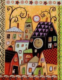 folk-art-paintings-canvas-paintings-KarlaGerard