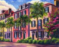 rainbow row, charleston, sc