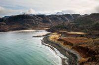 Remote Coastline of the Scottish Highlands