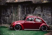 Old Beetle Red