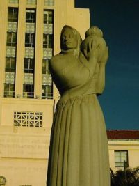 Statue in front of SD County Building