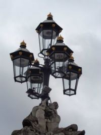 Light at Buckingham Palace