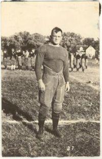 American Football Player circa 1920