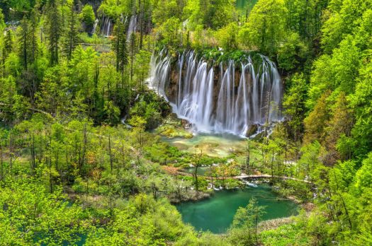 National Park Plitvice Lakes Croatia