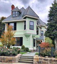 Dr Shurtleff Victorian House in Brookline MA