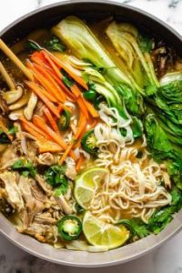 Asiatic Chicken Noodle Soup