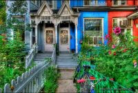 victorian houses in Toronto