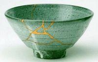 Kintsugi: More beautiful for having been broken.
