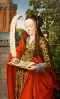 St. Barbara, A Portrait By The Master of Frankfurt
