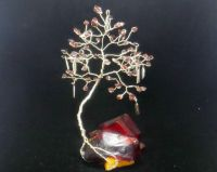 Garnet gem tree on an Arcanite crystal