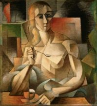 Metzinger - Le Gouter, (Tea Time), 1911
