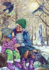 Poppy Palin Art - 'A Special Time'