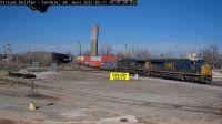 "Cordele CSX-3184 & CSX-170 ""Stacker"" train"