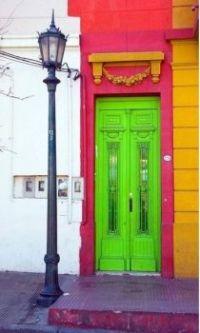 Multi-Colored Entrance