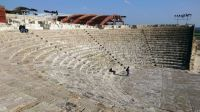 ancient theatre at Kourion on Cyprus