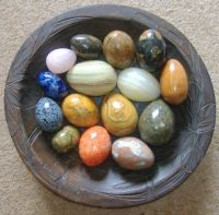 Easter - A Bowl of Eggs - But You Can't Eat These!