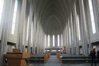 Iceland, Reykjavik, Hallsgrim Kirkja (church)