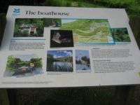 Boathouse information board