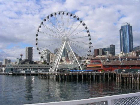 Great Wheel, Seattle, WA